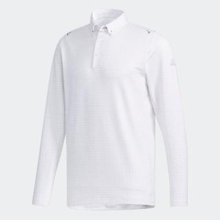 クライマライト スクエアプリント 長袖ボタンダウンシャツ【ゴルフ】 / Performance lSpolo