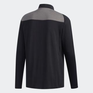 ベンチレーション 長袖ジップモックシャツ / Performance lSpolo
