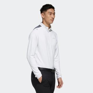 ベンチレーション 長袖ジップモックシャツ【ゴルフ】 / Performance lSpolo