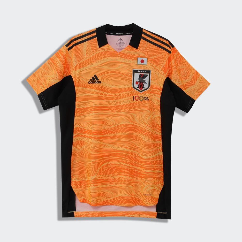 サッカー日本代表 ゴールキーパー ジャージー / Japan 21 Goalkeeper Jersey