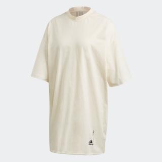 リサイクルコットン オーバーサイズ Tシャツワンピース / Recycled Cotton Oversize T-Shirt Dress