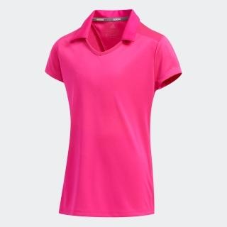 GIRLS キャップスリーブ半袖スキッパーシャツ