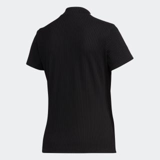 スリーストライプス 半袖モックネックシャツ【ゴルフ】