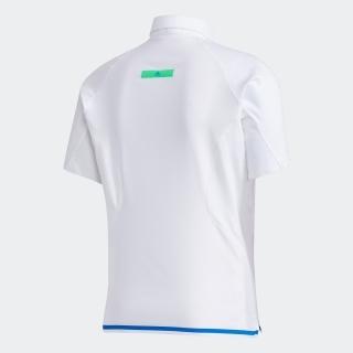 WARP KNIT スリーストライプス 半袖ボタンダウンシャツ