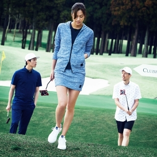 ADICROSS TOKYOジャカード長袖フーディー【ゴルフ】