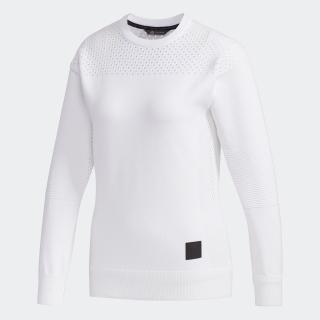 ADICROSS ジャカード クルーネックセーター