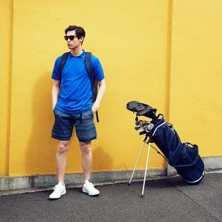 ADICROSS  メランジショートパンツ【ゴルフ】