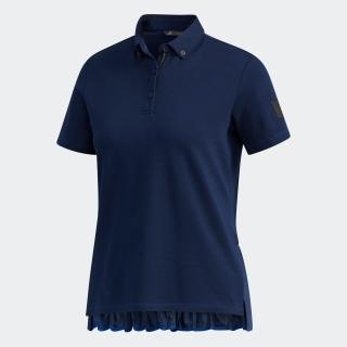 ADICROSS プリーツヘム 半袖ボタンダウンシャツ