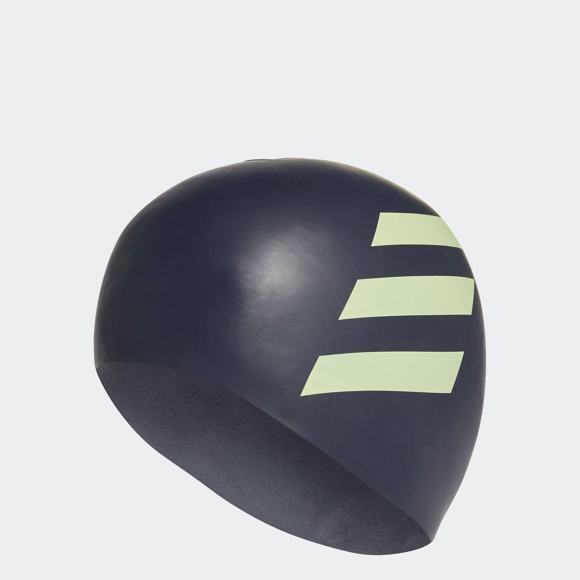 3ストライプス シリコン スイムキャップ / 3-Stripes Silicone Swim Cap