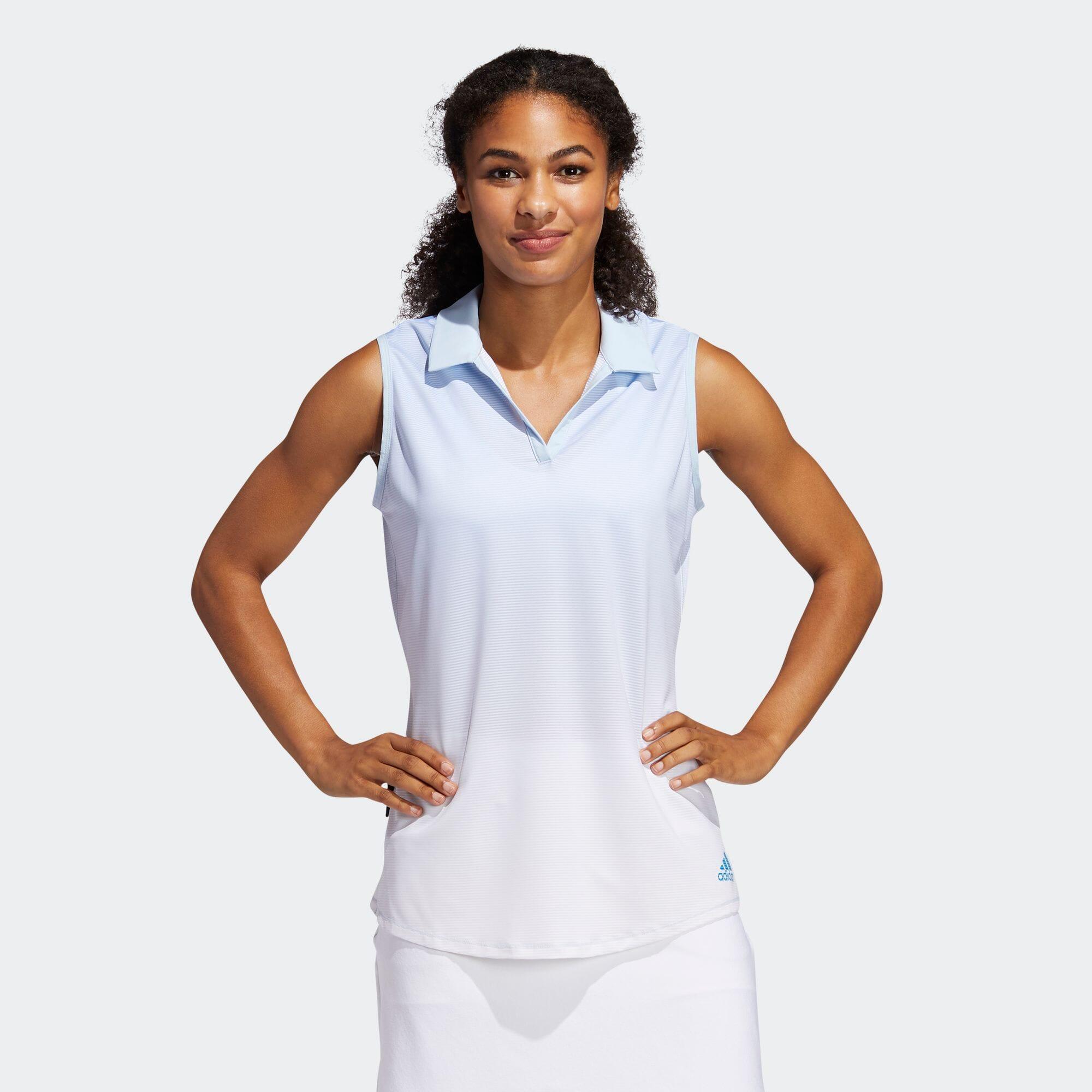PRIME BLUE ノースリーブスキッパーシャツ