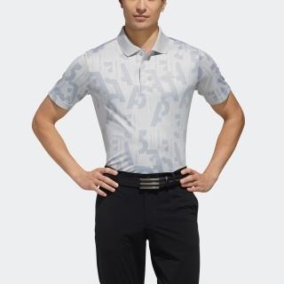 バックサイドプリント 半袖ポロ
