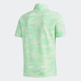 カモパターン 半袖ウーブンサッカーシャツ【ゴルフ】