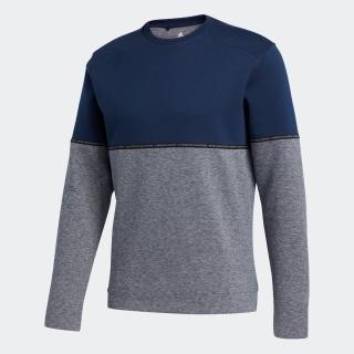 ADICROSS カラーブロック クルーネック長袖スウェット【ゴルフ】 / ADICROSS Heather Fleece Crew Sweatshirt