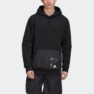 ウーブン ポケットパーカー / Woven Pocket Hoodie