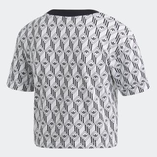 アディダス クロップド 半袖Tシャツ