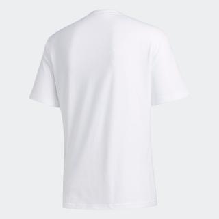 グリッド トレフォイル 半袖Tシャツ