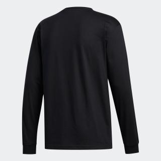 シャドー トレフォイル 長袖Tシャツ