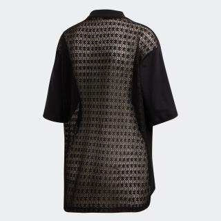 レースバック 半袖Tシャツ