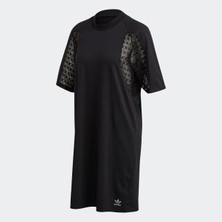 レース Tシャツドレス