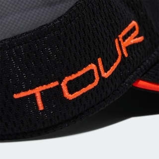ツアーメタリックロゴバイザー 【ゴルフ】/ Tour Met Visor Large