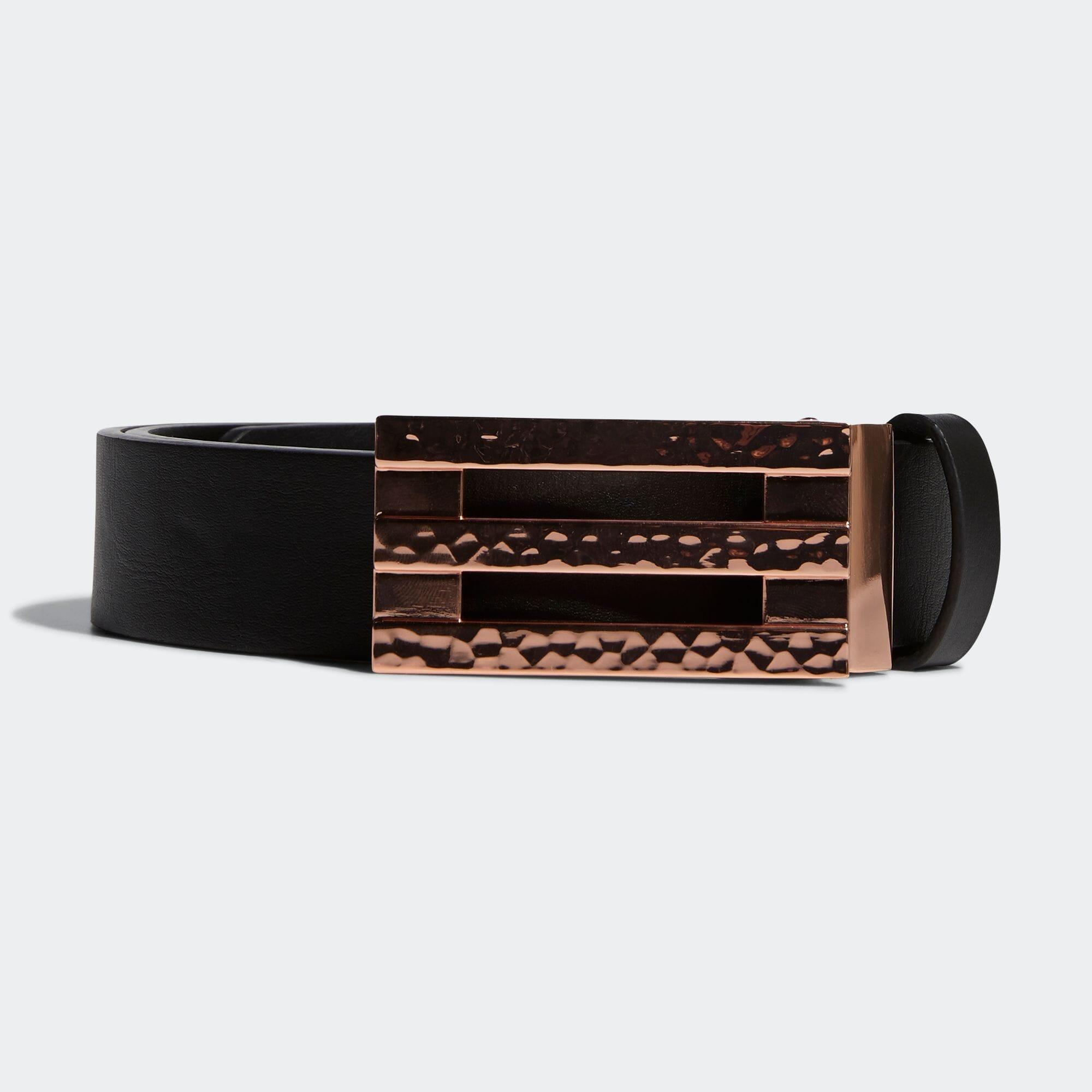 ウィメンズ 3ストライプバックルベルト【ゴルフ】/ 3-Stripes Belt