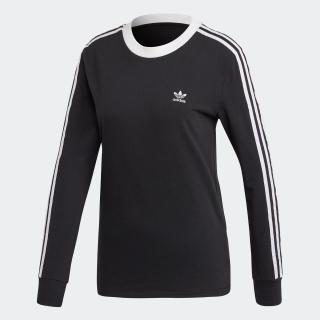 3ストライプ 長袖Tシャツ