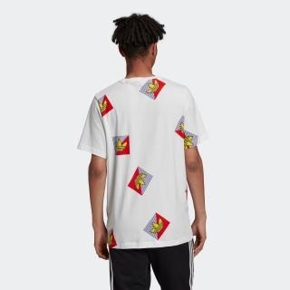 総柄プリント ダイアゴナル 半袖Tシャツ