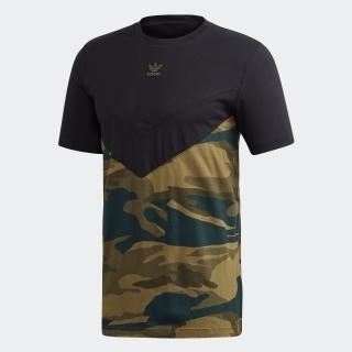 カモフラージュ ブロックTシャツ