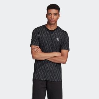モノグラム総柄プリント 半袖Tシャツ