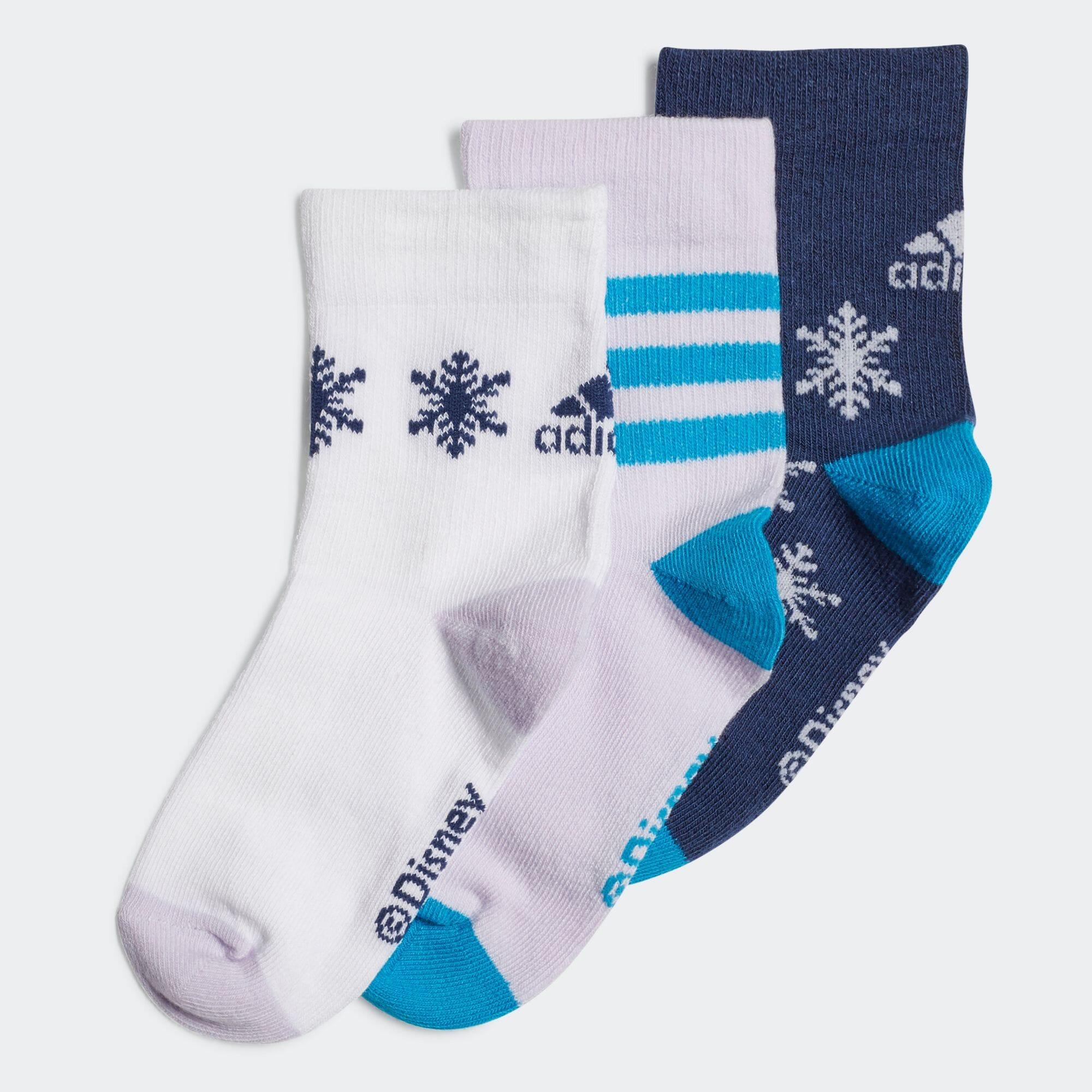 アナと雪の女王 クルーソックス3足組 / Frozen Crew Socks 3 Pairs