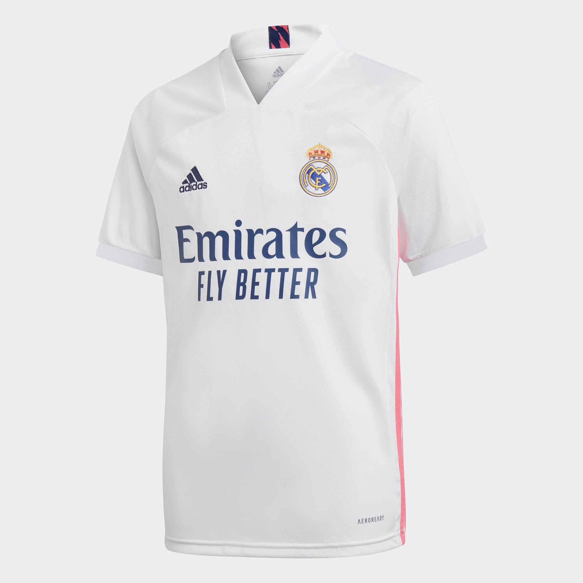 レアル・マドリード 20/21 ホームユニフォーム / Real Madrid 20/21 Home Jersey