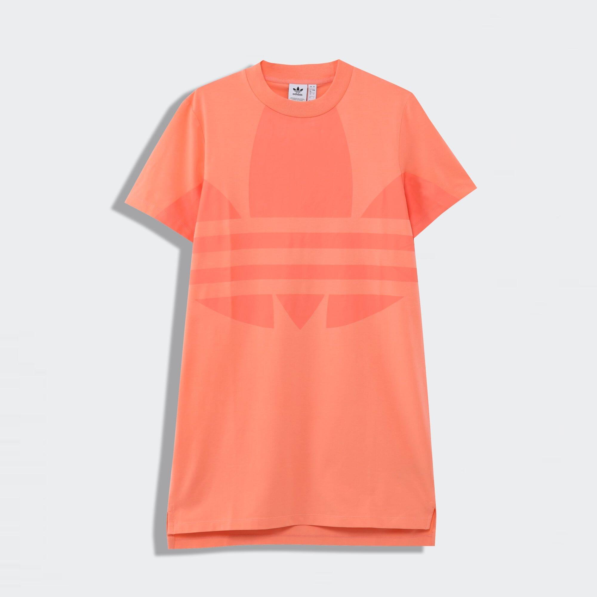 ロゴ Tシャツワンピース