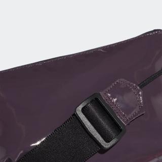 グロッシーマテリアル クロスボディ ポーチ / Glossy Material Cross-Body Pouch