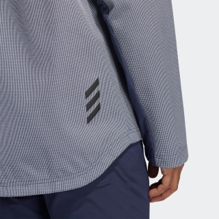 ADICROSS ハウンズトゥース長袖フーディージャケット 【ゴルフ】 / Adicross Element Waterproof Jacket