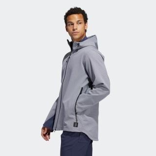 ADICROSS ハウンズトゥース長袖フーディージャケット  / Adicross Element Waterproof Jacket