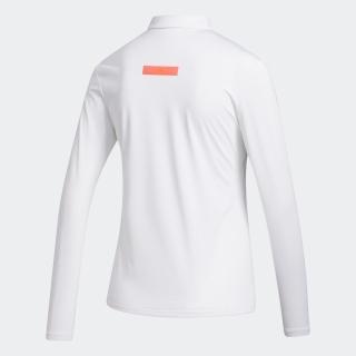 グラデーション 長袖ボタンダウンシャツ  / Colorblock Long Sleeve Polo Shirt