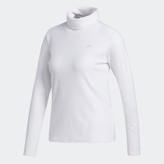 ファブリックミックス 長袖タートルネックシャツ 【ゴルフ】/ Mock Neck Long Sleeve Polo Shirt