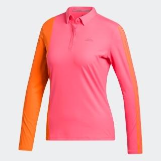 カラーブロック 長袖ボタンダウンシャツ  / Long Sleeve Polo Shirt