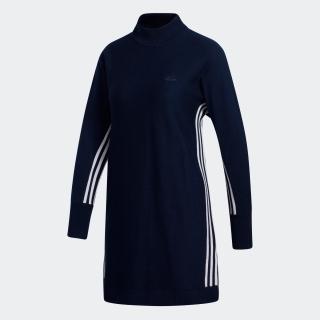 スリーストライプス プルオーバー セーターワンピース 【ゴルフ】/ Crewneck Sweater Dress