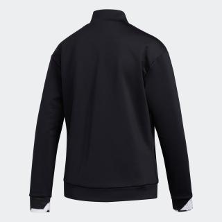 ジオメトリックプリント 長袖フルジップライニングスウエット / Jersey Jacket