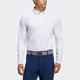 ショルダーストライプ 長袖ボタンダウンシャツ 【ゴルフ】 / Lightweight Long Sleeve Polo Shirt