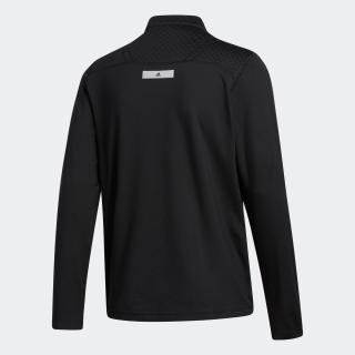 ファブリックミックス 長袖ジップハーフモックシャツ / Wind Sweatshirt