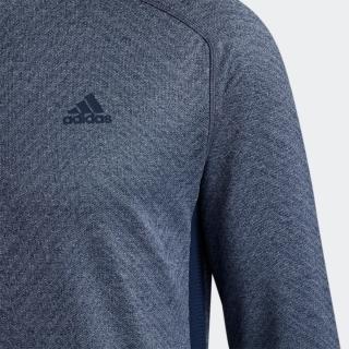 メランジジャカード 長袖モックネックシャツ 【ゴルフ】/ Allover Print Long Sleeve Tee
