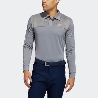 ファブリックミックス 長袖シャツ / Monogram Long Sleeve Polo Shirt