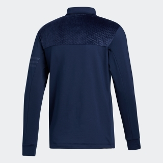 ファブリックミックス 長袖シャツ 【ゴルフ】/ Monogram Long Sleeve Polo Shirt
