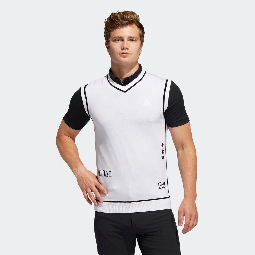 ロゴモチーフ セーターベスト / Sweater Vest