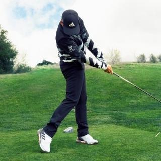 ジオメトリックプリント 長袖フルジップライニングスウェット 【ゴルフ】/ Jersey Jacket