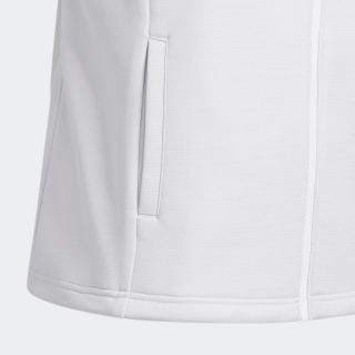 ファブリックミックス フルジップスウエットベスト / Hybrid Vest