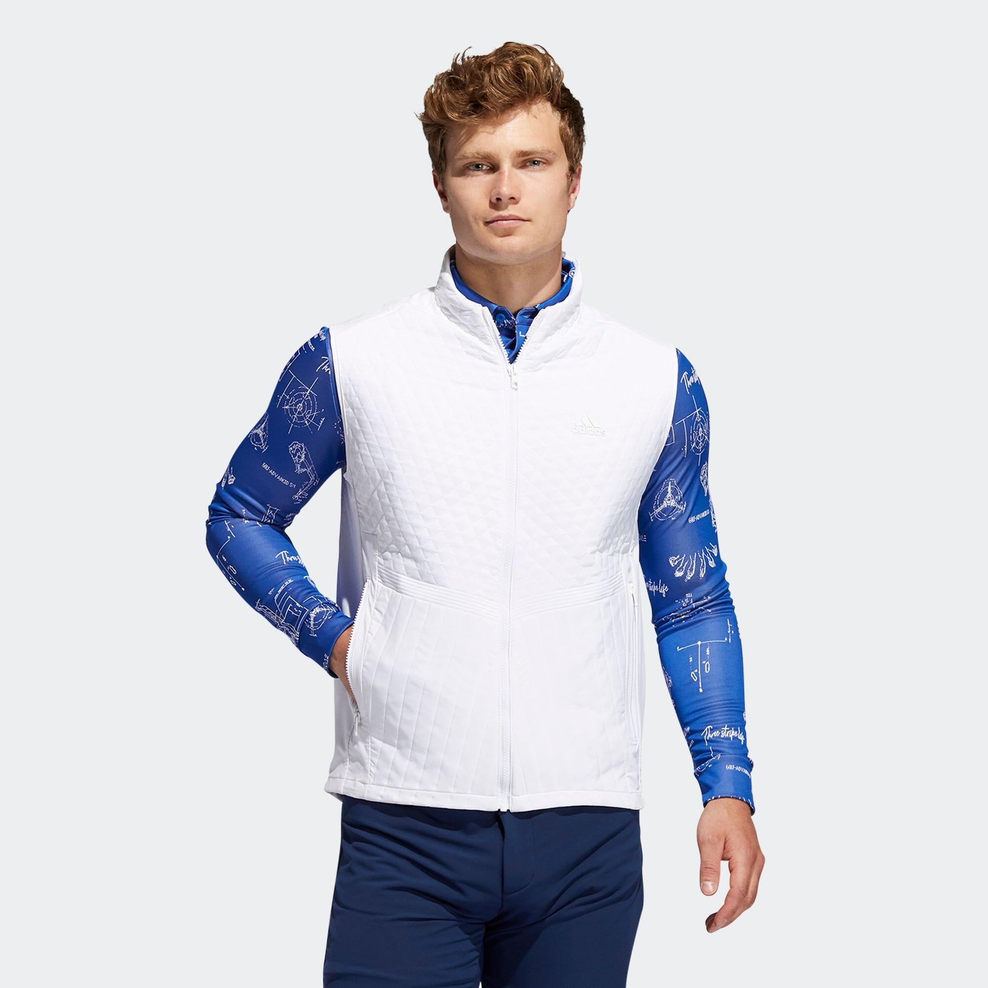スポーツキルティング フルジップベスト 【ゴルフ】/ Quilted Vest