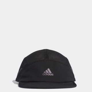 AEROREADY 3ストライプス 5パネル ランニングキャップ / AEROREADY 3-Stripes Reflective 5-Panel Running Cap